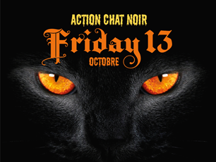 Action Halloween Chat Noir